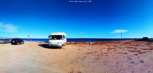Parking at Agua Amarga Playa - 03008 Alicante – Spain – February 2020