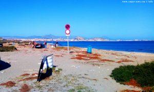 Und der nächste hängt fest - Agua Amarga Playa - Alicante – Spain