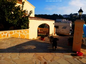 Parking in a private property by Antje - Jávea - Spain