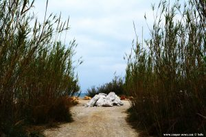 Kein Zugang mehr möglich - Platja L'Almadrava - Spain