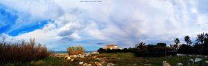 Von der versprochenen Sonne is heut' nicht viel zu sehen - Platja L'Almadrava – Spain