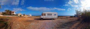 View today - Platja L'Almadrava – Spain