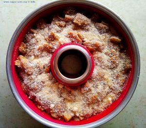 Marinierte Hähnchenstücke auf Gemüsebett mit Parmesan