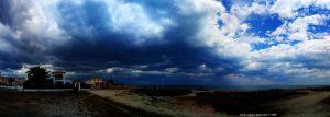 Der Westwind bringt viele Wolken - Platja L'Almadrava – Spain