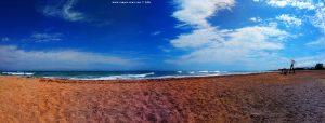 Meine Aussicht von meinem Strandplatz - Platja L'Almadrava – Spain