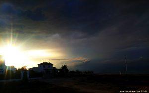 Doch noch einen Sonnenuntergang am Platja L'Almadrava – Spain