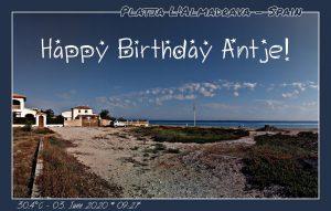 Happy Birthday liebe Antje! 🎊🎉✨🧨🎇🎆🎈🎀🎁🥂🍾🎂