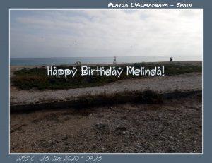 Happy Birthday Melinda! 🎀🎁🥂🍾🎂🎊🎉✨🎇🎈