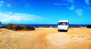 Parking at Camino del cabo - 03130 Santa Pola - Alicante – Spain – July 2020
