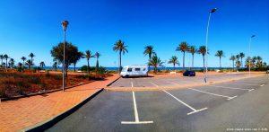 Parking at Paseo Marítimo - Los Urrutias - 30368 Cartagena - Murcia - (Playa Estrella del Mar) - Spain