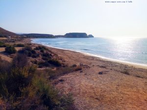 My View today - Playa de Las Palmeras – Spain