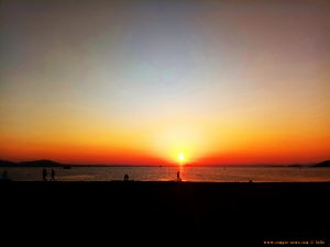 Sunset at Playa del Vivero - Playa Honda – Spain