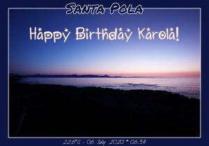 Happy Birthday Karola! 🎀🎁🥂🍾🎂🎊🎉✨🎇🎈