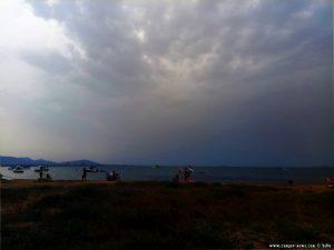 Da kommt gleich ein ordentliches Gewitter runter - Playa del Vivero - Playa Honda – Spain