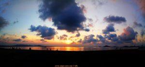 Sunset am Playa del Vivero - Playa Honda – Spain