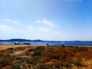 Der herrenlose Sonnenschirm - Playa del Vivero - Playa Honda – Spain