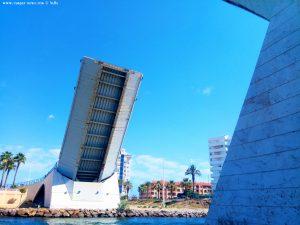 Klappbrücke Puente Estacio - La Manga – Spain