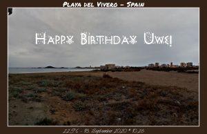 Happy Birthday Uwe! 🎀🎁🥂🍾🎂🎊🎉✨🎇🎈