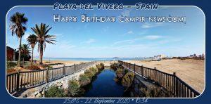 Happy Birthday camper-news.com! 🎀🎁🥂🍾🎂🎊🎉✨🎇🎈