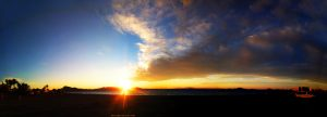Sunset at Playa del Vivero - Playa Honda – Spain