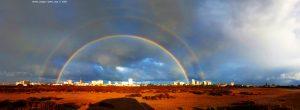 Rainbow at Playa del Vivero - Playa Honda – Spain