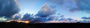 Sunset at Playa del Vivero - Playa Honda - Spain