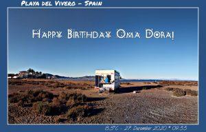 Happy Birthday Oma Dora! 🎀🎁🥂🍾🎂🎊🎉✨🎇🎈