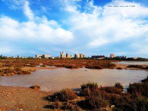 Unser Piscina im Heck vom Camper - Playa del Vivero - Playa Honda – Spain