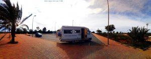 Parking in Los Urrutias - Spain
