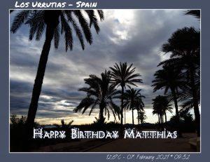 Happy Birthday Matthias! 🎀🎁🥂🍾🎂🎊🎉✨🎇🎈