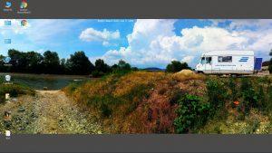 Simeria Veche - River Strei - Romania in July 2019