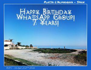 7 Jahre WhatsApp-Group!