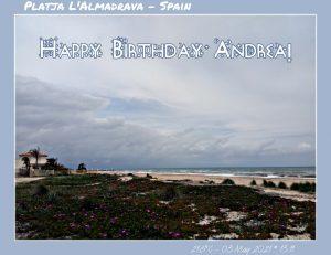 Happy Birthday Andra! 🎀🎁🥂🍾🎂🎊🎉✨🎇🎈