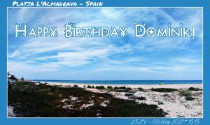Happy Birthday Dominik! 🎀🎁🥂🍾🎂🎊🎉✨🎇🎈