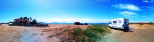 Parking at Playa del Vivero - Playa Honda – Spain