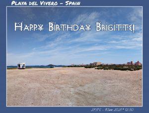 Happy Birthday Brigitte! 🎀🎁🥂🍾🎂🎊🎉✨🎇🎈