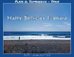 Happy Birthday Florian! 🎀🎁🥂🍾🎂🎊🎉✨🎇🎈
