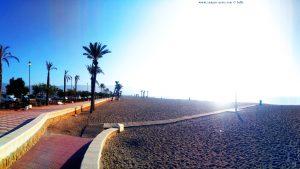 My View today - Playa las Salinas - Roquetas del Mar – Spain