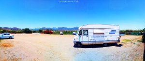 Parking at Playa el Playazo - Nerja – N-340 - 29780 Nerja – Málaga - Spain – July 2021