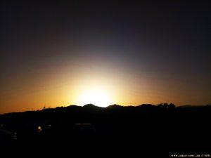 Sunset at Playa el Playazo - Nerja - Spain