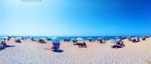 Ganz schön busy am Playa Cruce de la Redondela - Isla Cristina – Spain