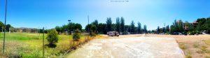 Parking in Área Autocaravanas Alange - Alange 06840 - Provinz Badajoz - Spain - July 2021