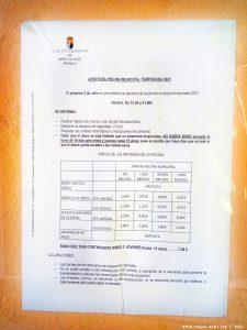 Piscina Municipal Alange – Spain