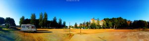 My View today - Área Autocaravanas Alange – Spain