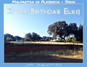 Happy Birthday Elke! 🎀🎁🥂🍾🎂🎊🎉✨🎇🎈