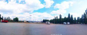Parking in ASC - 461m - Riu Ter - Aparcament Camp De Futbol - Manlleu - Barcelona - Spain - August 2021