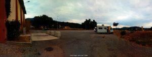 Parking in Aire Camping Car - Bléone - Halle des sports Alice Milliat - Promenade du Tibet - 04000 Digne-les-Bains - France - September 2021
