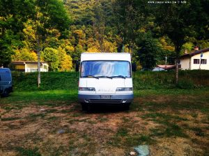 Parking in ASC Vigna - Fiume Pesio - SP42 8 - 12013 Chiusa di Pesio - CN - Italy - September 2021