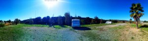 My View today - Arie CampingCar Park - Port-la-Nouvelle – France