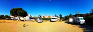 Parking in the Town Begur – Spain